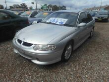 2002 Holden Commodore VX II S Silver 4 Speed Automatic Sedan Mount Lewis Bankstown Area Preview