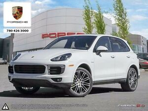 2017 Porsche CAYENNE E-HYBRID Local Edmonton Vehicle - Has 6 Yea