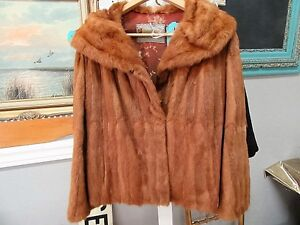 Vintage Meyer Epstein (London, Ont.) Muskrat Fur Jacket