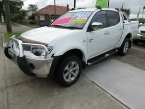 2011 Mitsubishi Triton MN MY11 GLX-R (4x4) White 5 Speed Manual 4x4 Double Cab Utility