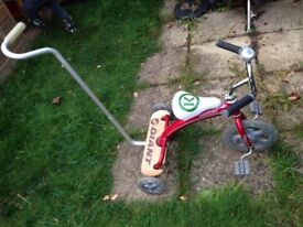 Giant brand kids tricycle - red, used but good condition