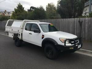 2010 FORD RANGER 4X2 HIGHRISE (TURBO DIESEL MANUAL) North Hobart Hobart City Preview