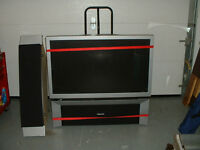 floor model flat screen tv