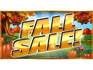 Our LARGEST ever BAR T5 Fall SALE is happening this month