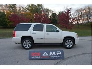 2011 GMC Yukon 7pass NAVI Roof Chrome Leather Pearl White 4x4