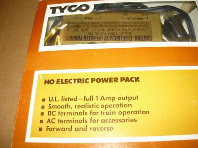 Tyco Tycopro Electric Racing System Model 608B Hobby Transformer 18V DC Track