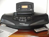 Panasonic Portable Stereo CD system RX-ED77.