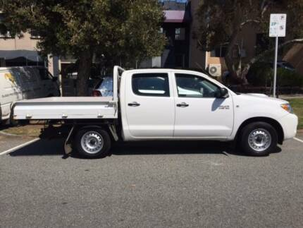 2008 Toyota Hilux Ute with dual cab and tray West Leederville Cambridge Area Preview