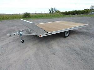 Snowmobile 101'' X 12' flat bed Trailer
