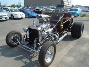 1923 Ford T-bucket Custom suspension blown over 800-1000HP!!