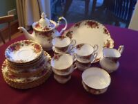 Royal Albert Old Country Roses Tea Service