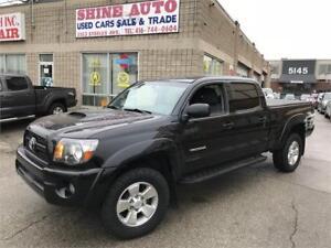 2011 Toyota Tacoma TRD-CREW CAB-V6-4X4- BACK UP CAMERA