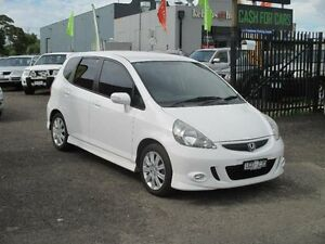 2007 Honda Jazz MY06 GLi White Continuous Variable Hatchback Hoppers Crossing Wyndham Area Preview