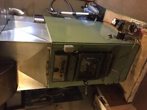 Wood/Oil furnace combination - Caddy