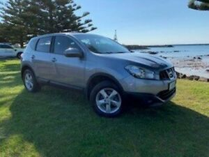 2011 Nissan Dualis J10 Series II MY2010 ST Hatch Silver 6 Speed Manual Hatchback South Burnie Burnie Area Preview