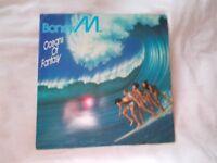Vinyl LP Oceans Of Fantasy – Boney M Atlantic K50610 Stereo 1979
