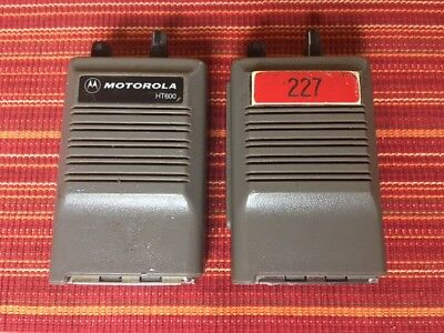Motorola Ht600 Radio Vhf 4-channel Lot Of 2 Used