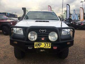 2012 Toyota Hilux KUN26R Workmate White Automatic Utility Mount Druitt Blacktown Area Preview