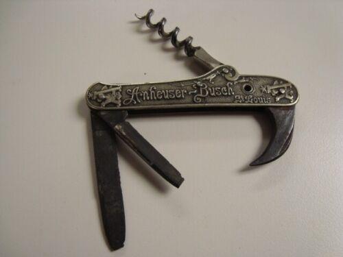 Circa 1900 Anheuser-Busch Pocket Knife #1, St, Louis, Missouri