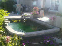 Pond Liner *** Make your landscaping one to desire this spring