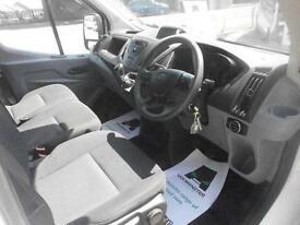 Ford Transit T350 2.2 Tdci High Roof 125Ps L3H3 Van DIESEL MANUAL WHITE (2014)