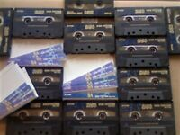 A2Z JL 12x TDK SA 90 CHROME CASSETTE TAPES 1997-2002 W/ CARDS CASES LABELS GUARANTEED GOODS FREE P&P