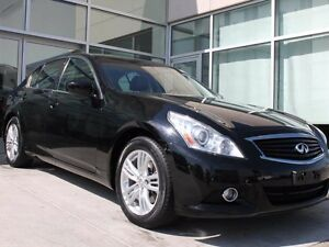 2013 Infiniti G37x AWD/LEATHER INTERIOR/HEATED FRONT SEATS/BACK
