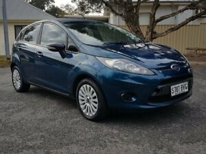 2010 Ford Fiesta WT LX PwrShift Blue 6 Speed Sports Automatic Dual Clutch Hatchback Blair Athol Port Adelaide Area Preview