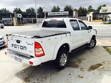 2013 Foton Tunland P201 MY14 TK (4x4) White 5 Speed Manual Dual Cab Utility Beckenham Gosnells Area Preview