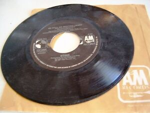 STING 45 rpm record