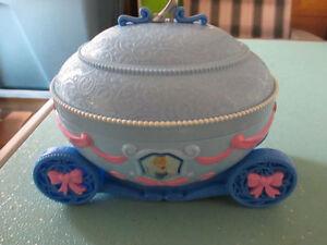 Disney Princess Cinderella Carriage Jewelry Music Box