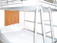 A big double bedroom with 3 large Windows,2 bed,maximum two people £200p/w, a Single £181p/w, Zone1.