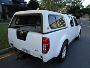 2010 Nissan Navara D40 RX White 6 Speed Manual Dual Cab Chermside Brisbane North East Preview