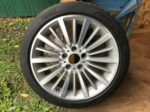 "BMW 3 Series OEM 18"" Wheels w. Pirelli Run Flat Winter Tires"