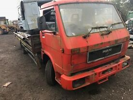 MAN 8.150 truck for sale. Starts and drives with great tyres and two batteries.