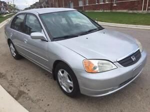 2002 Honda Civic 4dr Auto, All Pwr, Cruise, Safety Etest Oakville / Halton Region Toronto (GTA) image 2