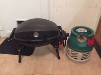 BBQ + gas bottle for sale