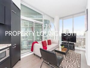 Fully Furnished All Inclusive Yorkville 1 Bed/1 Bath Penthouse