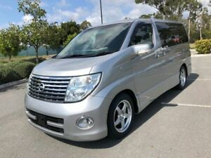 2005 Nissan Elgrand E51 Series2 Highway Star Silver 5 Speed Automatic Wagon Arundel Gold Coast City Preview