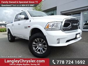 2016 RAM 1500 3.0L LIMITED W/Air Suspension & Navigation