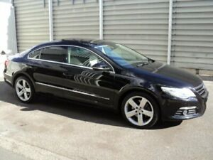 2010 Volkswagen Passat CC 3C MY10 125 TDI Black 6 Speed Direct Shift Coupe Edwardstown Marion Area Preview