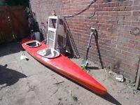 double seat canoe