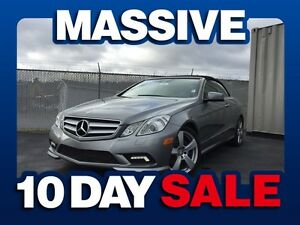 2011 Mercedes-Benz E-Class E350 w/PREMIUM LEATHER/RAGTOP/ALLOYS/