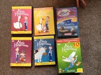 Boxed set of 4 kids Dutch DVDs, + 1 extra (5 DVDs in total)