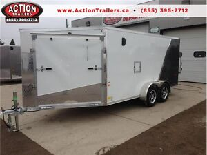 FULLY LOADED SNOWMOBILE TRAILERS AT DISCOUNTED PRICES ALL SIZES London Ontario image 1
