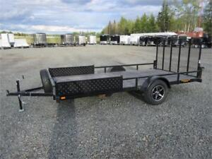 7' x 14' SINGLE AXLE WITH BRAKES