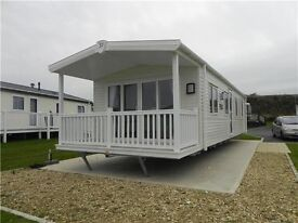 DOUBLE GLAZED / CENTRAL HEATED STATIC CARAVAN FOR SALE ON THE NORTH EAST COAST , NEWCASTLE, DURHAM