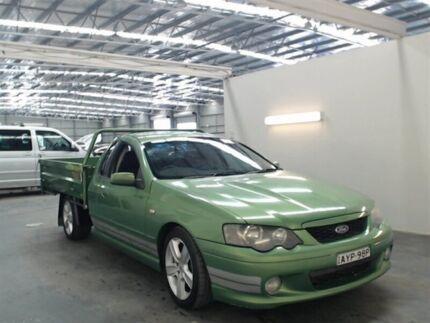 2004 Ford Falcon BA XR8 Green 4 Speed Auto Seq Sportshift Utility
