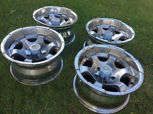 Set of 4 Chrome American Racing Rims