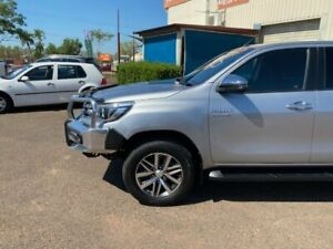 2018 Toyota Hilux GUN126R MY17 SR5 (4x4) Silver 6 Speed Automatic Dual Cab Utility Holtze Litchfield Area Preview